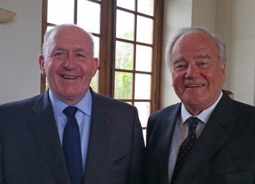 Christian Cambon et Sir Peter Costgrove