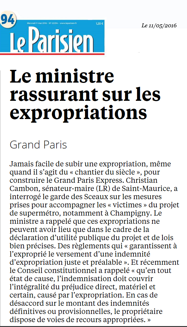 Christian-Cambon-Le-Parisien-expropriation-Champigny