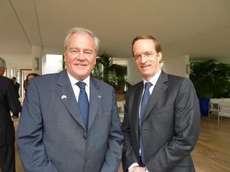 Christian Cambon - Charles FRIES, ambassadeur