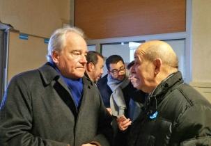 Christian Cambon - Jean Yves Le Drian - ministre