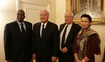 Christian Cambon - M. Modibo Sidibe ancien Premier-ministre du Mali