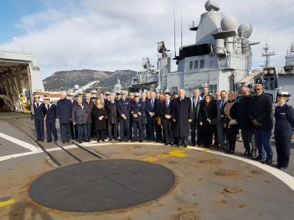 Christian Cambon - base naval de Toulon