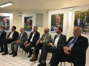 Christian Cambon - Gilles carrez - legislatives