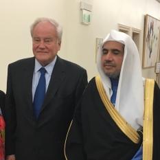 Christian Cambon -Mohammed Al-Issa secretaire general de la ligne islamique mondiale