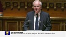Christian Cambon - President commission Affaires etrangeres, de la defense et des forces armees