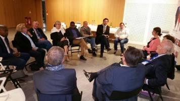 Christian Cambon - réunion des sénatoriales - Franck Le Bohellec à Villejuif 2