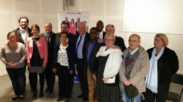 Christian Cambon - réunion des sénatoriales - Franck Le Bohellec à Villejuif 3