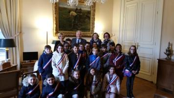 Christian Cambon - Conseil Municipal des enfants de Villecresnes
