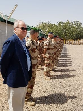 Christian Cambon - General Bosser - Tchad