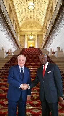 Christian Cambon - Mvondo Ayolo, Ambassadeur du Cameroun.jpg