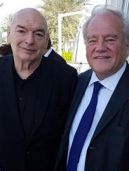 Christian Cambon et Jean Nouvel architecte