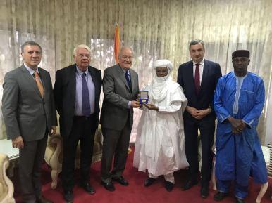 Christian Cambon - M. Rafini, Premier ministre du Niger