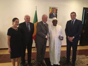Christian Cambon - Président de la République du Mali Ibrahim Boubacar Keita - 1