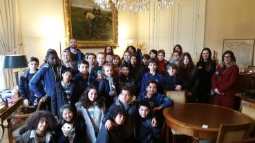 Visite Senat Cm2 Charenton - Christian Cambon