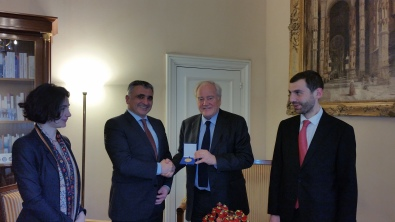 Christian Cambon - Secretaire du Conseil National de Securite de la Georgie M. David Rakviashvili