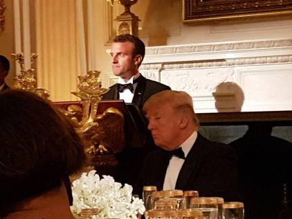 Emmanuel Macron - Trump