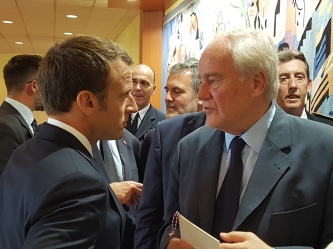 Christian Cambon - Emmanuel Macron