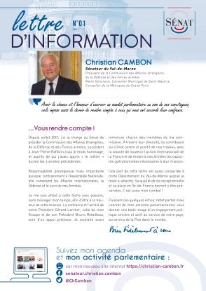 Christian Cambon - lettre d'information 06-2018-1