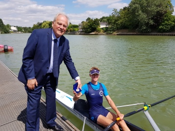 Christian Cambon - Virginie Tollard - Le Senat en Marne - Aviron - 8