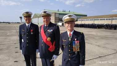 Christian Cambon - célébration de l'adieu aux armes du Général Schuler