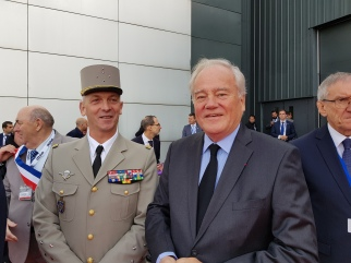 Christian Cambon - General Lecointre - Euronaval
