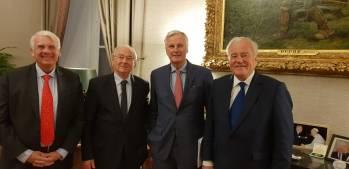 Christian Cambon - Michel Barnier - Jean Bizet