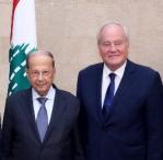 Christian Cambon - président de la République Michel Aoun 3