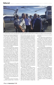 3 - La Lettre Diplomatique - nov 2018 - Christian Cambon