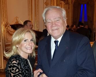 Mme L'Ambassadrice des Etats-Unis Jamie D. McCourt 2