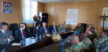 Christian Cambon - base militaire Ethiopie