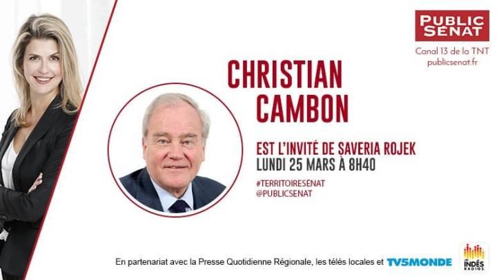 Christian Cambon Public Senat