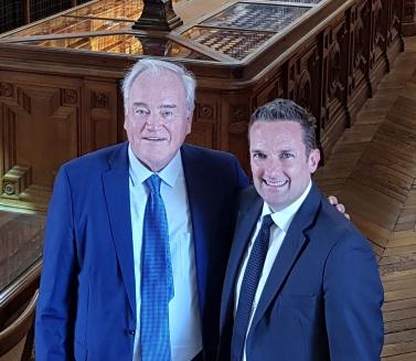 Christian Cambon - Brendan Berne ambassadeur Australie --