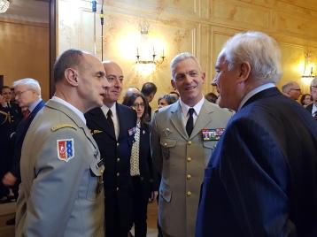 Christian Cambon - General Lavigne - General Lecointre
