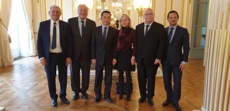 Christian Cambon - LU Shaye, Ambassadeur de Chine