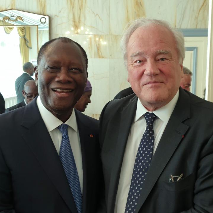 Christian Cambon - Alassane Ouattara