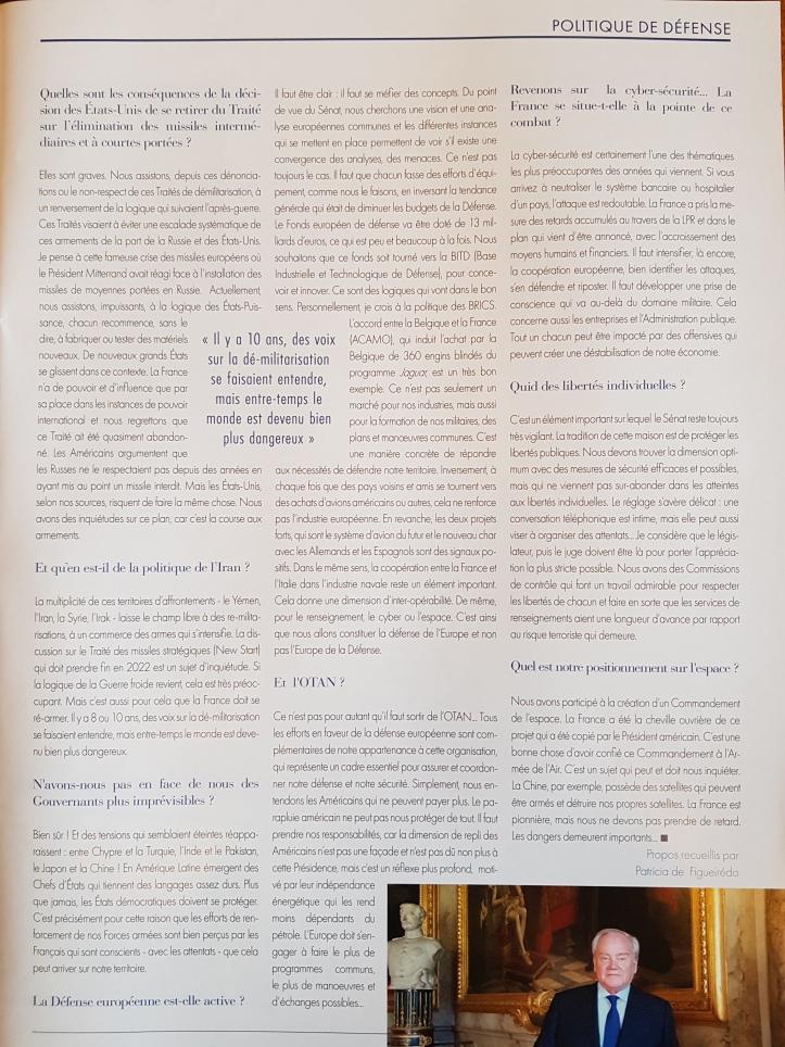 Christian Cambon - journal du Parlement 2