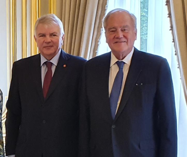 Christian Cambon - Alexey Meshkov Ambassadeur de Russie en France - 2