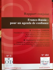 Rapport Christian Cambon - Russie